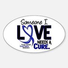 Needs A Cure 2 Colon Cancer Oval Decal