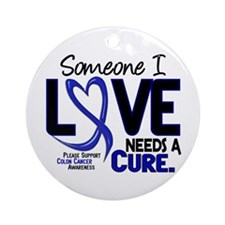 Needs A Cure 2 Colon Cancer Ornament (Round)