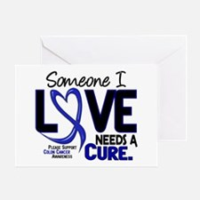Needs A Cure 2 Colon Cancer Greeting Card