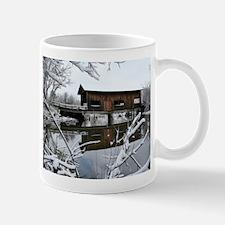 Snow Covered Bridge Mug