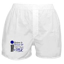Believe Dream Hope Colon Cancer Boxer Shorts