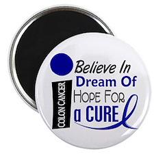 Believe Dream Hope Colon Cancer Magnet