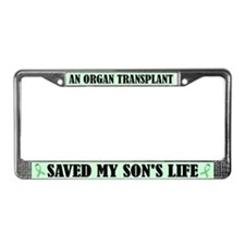 Organ Transplant License Frame