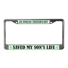Organ Transplant License Frame