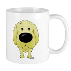 Big Nose/Butt Golden Mug