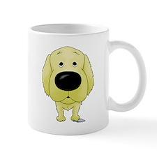 Big Nose/Butt Golden Small Mug