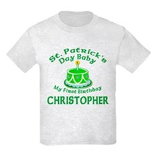 Personalized for CHRISTOPHER T-Shirt