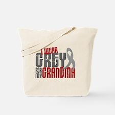 I Wear Grey For My Grandma 6 Tote Bag
