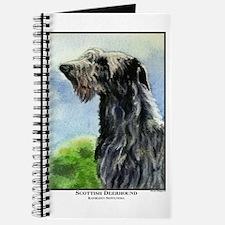 Scottish Deerhound Painting Journal