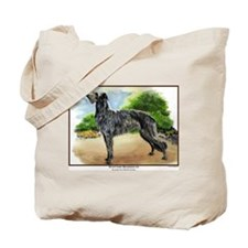 Scottish Deerhound Painting Tote Bag