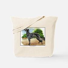 Scottish Deerhound Painting Tote Bag