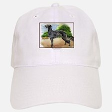 Scottish Deerhound Painting Baseball Baseball Cap