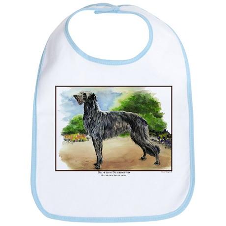 Scottish Deerhound Painting Bib