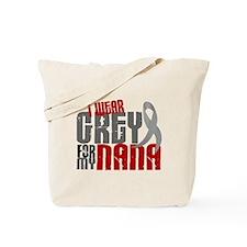 I Wear Grey For My Nana 6 Tote Bag