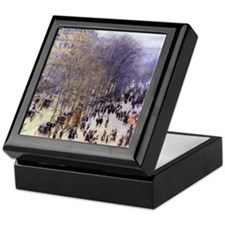 Boulevard des Capucines by Claude Monet Keepsake B