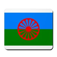 Romani Flag (Gypsies Flag) Mousepad