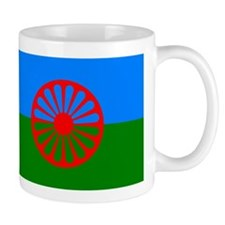 Romani Flag (Gypsies Flag) Small Mug