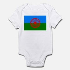 Romani Flag (Gypsies Flag) Onesie