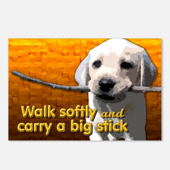 Walk Softly... Postcards (Package of 8)