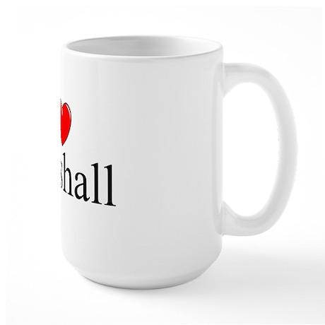 """I Love (Heart) Marshall"" Large Mug"