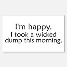 Wicked Dump Rectangle Decal