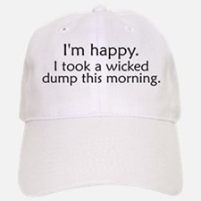 Wicked Dump Baseball Baseball Cap