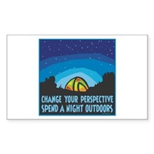 Tent Camping Decal