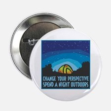 """Tent Camping 2.25"""" Button (100 pack)"""