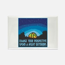 Tent Camping Rectangle Magnet (100 pack)