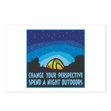 Tent Camping Postcards (Package of 8)