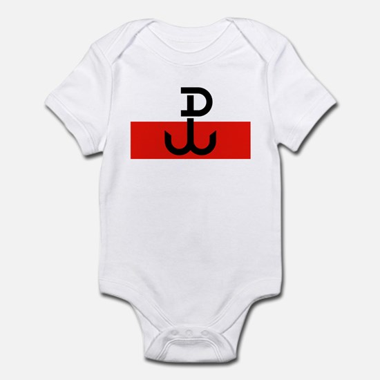 Polish Resistance Flag Infant Bodysuit