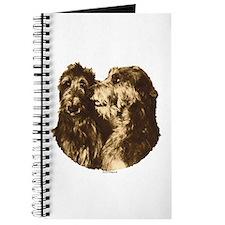 Scottish Deerhound Portrait Journal