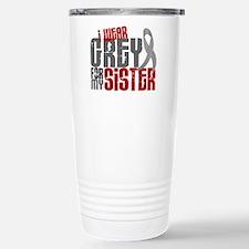 I Wear Grey For My Sister 6 Travel Mug