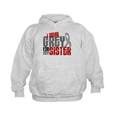 I Wear Grey For My Sister 6 Hoody