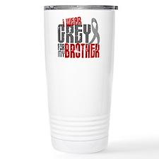I Wear Grey For My Brother 6 Travel Mug