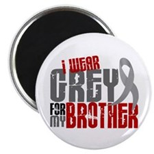 I Wear Grey For My Brother 6 Magnet