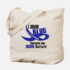 I Wear Blue For My Mom 33 CC Tote Bag