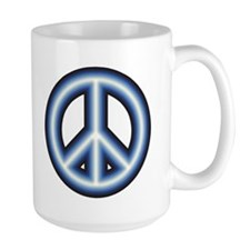 Large Peace Sign Coffee Mug