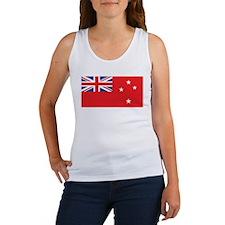 New Zealand (Civil Ensign) Women's Tank Top