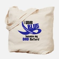 I Wear Blue For My Dad 33 CC Tote Bag