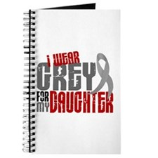 I Wear Grey For My Daughter 6 Journal