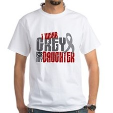 I Wear Grey For My Daughter 6 Shirt