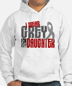 I Wear Grey For My Daughter 6 Jumper Hoody