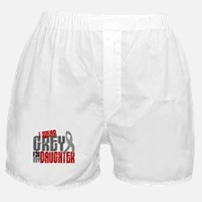 I Wear Grey For My Daughter 6 Boxer Shorts