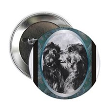 Scottish Deerhound Designer Button