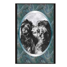 Scottish Deerhound Designer Postcards (Package of