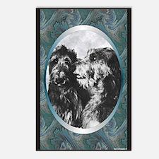 Scottish Deerhound Designer Postcards (Package of