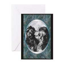 Scottish Deerhound Designer Greeting Cards (Packag