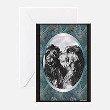 Scottish Deerhound Designer Greeting Cards (Packag