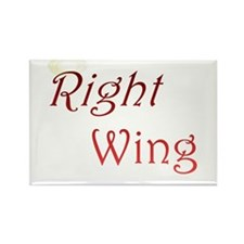 Right Wing Rectangle Magnet